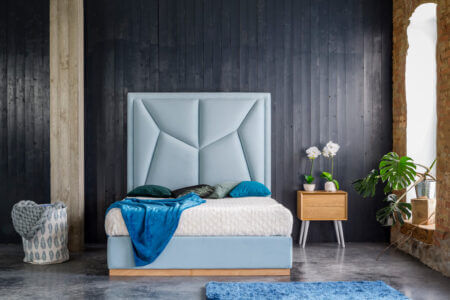 Łóżko tapicerowane Verti – Dormi Design