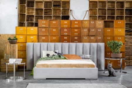 Łóżko tapicerowane Asti – Dormi Design