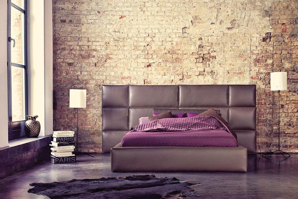 Łóżko tapicerowane Boston – Dormi Design