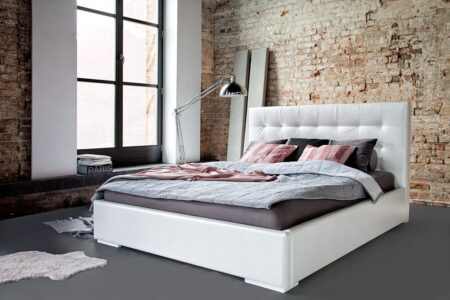 Łóżko tapicerowane Livia – Dormi Design