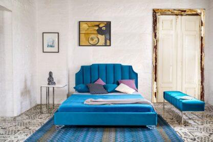 Crown łóżko tapicerowane Dormi