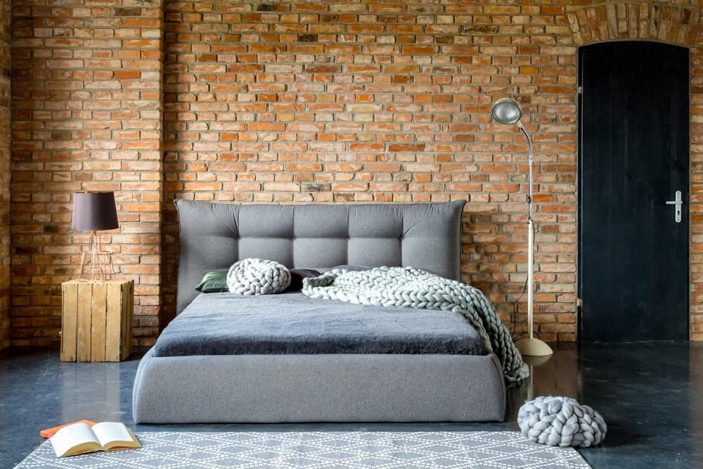 Łóżko tapicerowane Arezzo – Dormi Design